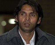 Former Pakistani cricketer Mohammad Asif leaves Southwark Crown Court in November 2011. Asif is expected to be released from a British prison on May 5 after completing half his one-year sentence for spot-fixing during the 2010 Lord&#39;s Test against England, a friend and cricket coach told AFP
