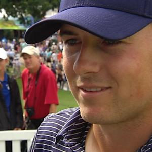 Jordan Spieth interview after the final round of Crowne Plaza