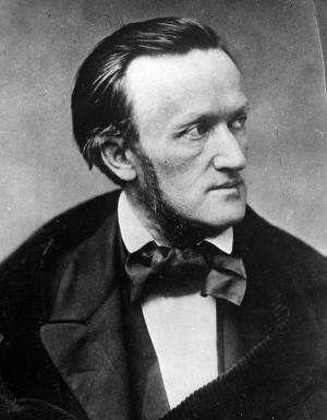 FILE - This undated photo shows German composer Richard Wagner. The 200th anniversary of Richard Wagner's birth is May 22, and the world's opera houses and symphony halls are filled with his music this year along with the compositions of Giuseppe Verdi, whose 200th birthday is Oct. 10. (AP Photo/Trinquart, File)