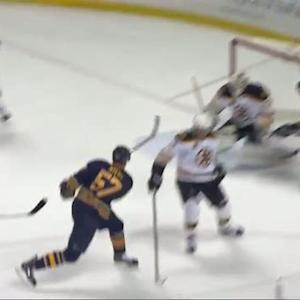 Tyler Myers rockets shot past Chad Johnson
