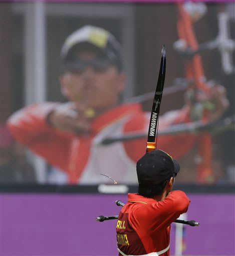 CORRECTION London Olympics Archery Men