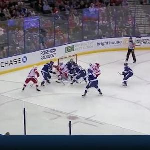 Ben Bishop Save on Gustav Nyquist (06:29/1st)