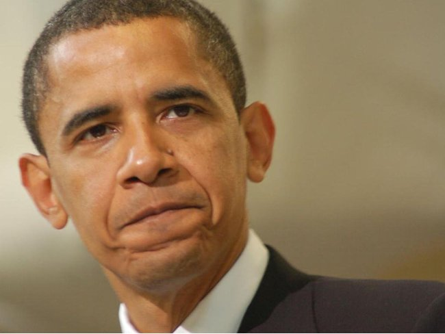 obama angry frustrated