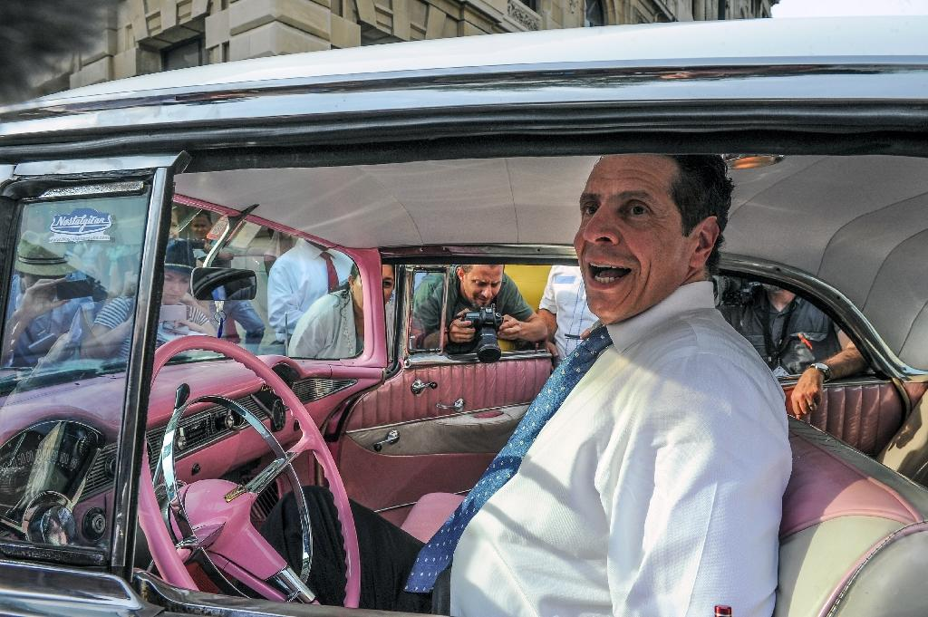 N.Y. state Gov. Cuomo in Cuba, meets business, religious leaders