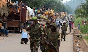 Soldiers from the Misca, The African-led International…