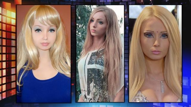 Transforming Into a Human Barbie