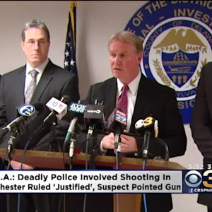 DA Says Deadly Police Shooting 'Justified'