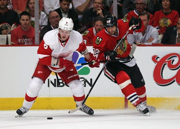 Detroit Red Wings v Chicago Blackhawks - Game One
