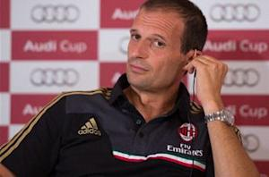 Allegri blasts timid Milan after Man City defeat