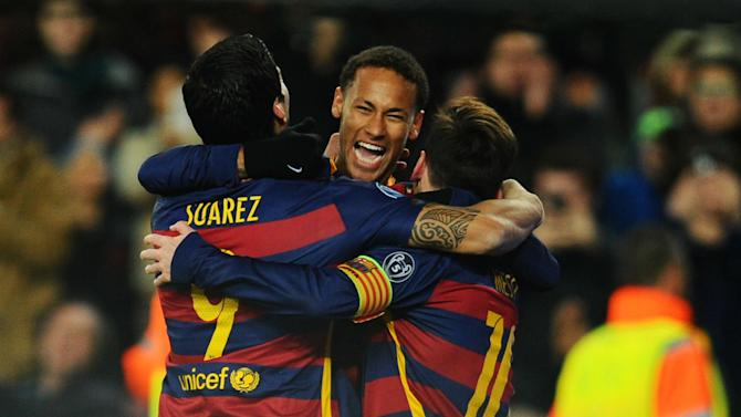 Messi, Suarez and Neymar head-up Barca-dominated Team of the Year shortlist