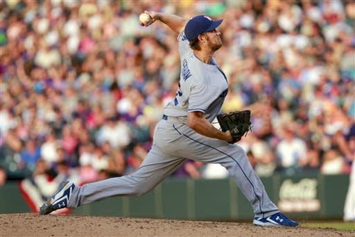 Kershaw, Puig lead Dodgers to 8-0 win over Rockies