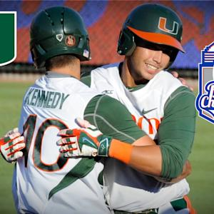 Miami's Zack Collins and Jim Morris Talk Exciting Victory Over Notre Dame