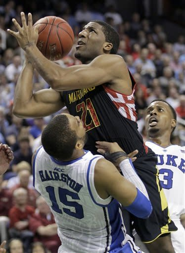 Wells leads Maryland to 83-74 upset of No. 2 Duke