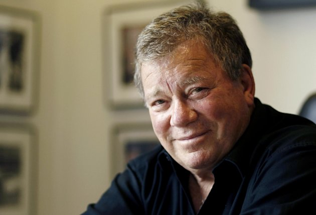 In this Jan. 30, 2011 photo, Actor William Shatner poses for a portrait in Los Angeles. Captain James T. Kirk will be on hand when the aircraft carrier USS Enterprise is officially retired. A publicist for Shatner says the actor will attend the ship&#39;s inactivation ceremony Saturday, Dec. 1, 2012 at Naval Station Norfolk. Shatner is scheduled to perform Friday in Newport News. Shatner played Kirk at the helm of the starship Enterprise in the &quot;Star Trek&quot; television series and several movies. The world&#39;s first-nuclear powered aircraft carrier returned to Norfolk from its final deployment earlier this month. Saturday&#39;s inactivation will be its last public ceremony. (AP Photo/Matt Sayles)