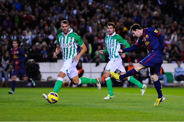 Real Betis Balompie v FC Barcelona - La Liga