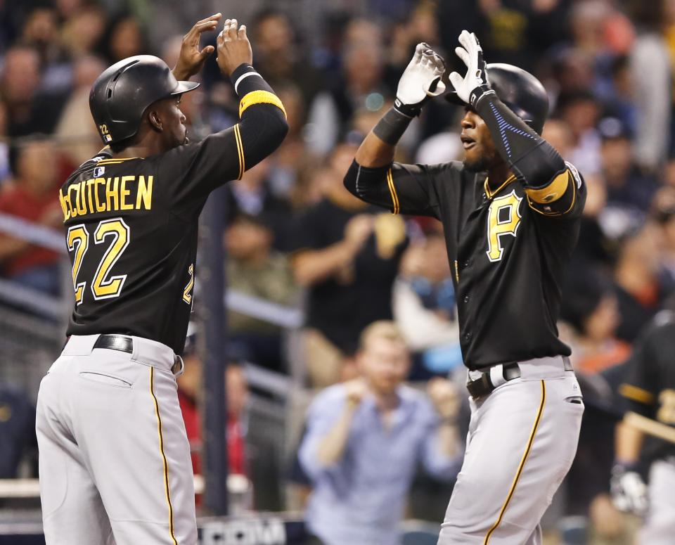 Kang, Marte, Polanco homer in Pirates' 11-5 win vs Padres