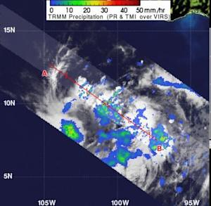 'Hot Tower' Rain Clouds Spied in Burgeoning Tropical Storm Bud