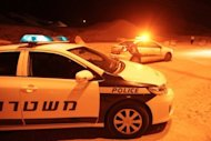 Israeli police patrol the Red Sea resort of Eilat in August 2012. A US tourist opened fire in the lobby of a hotel in the Israeli Red Sea resort town of Eilat killing one person, before being shot dead by the security forces, police say