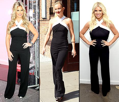 Kim Zolciak Wears Same Jumpsuit as Jessica Simpson, Kate Hudson: Who Wore It Best?