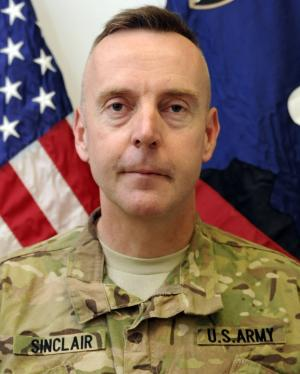 FILE - This undated file photo provided by the U.S. Army shows Brig. Gen. Jeffrey A. Sinclair. Sinclair, who served five combat tours in Iraq and Afghanistan, has been charged with forcible sodomy, multiple counts of adultery and having inappropriate relationships with several female subordinates, two U.S. defense officials said in September. The military judicial hearing scheduled Monday, Nov. 5, 2012, for Brig. Gen. Jeffery Sinclair will be at Fort Bragg in North Carolina. (AP Photo/U.S. Army, File)