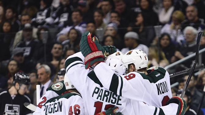 Wild snaps Kings' 6-game winning streak