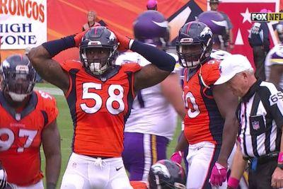 The NFL has robbed us of Von Miller's new sexy sack celebration