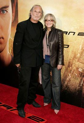 Producers Avi Arad and Laura Ziskin at the Los Angeles premiere of Columbia Pictures' Spider-Man 2