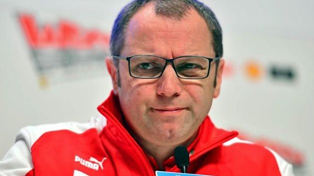Stefano Domenicali of Ferrari (Getty)