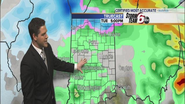 Tuesday's Forecast: Winter Weather Advisory issued