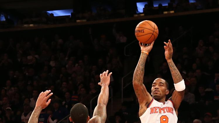 NBA: Atlanta Hawks at New York Knicks