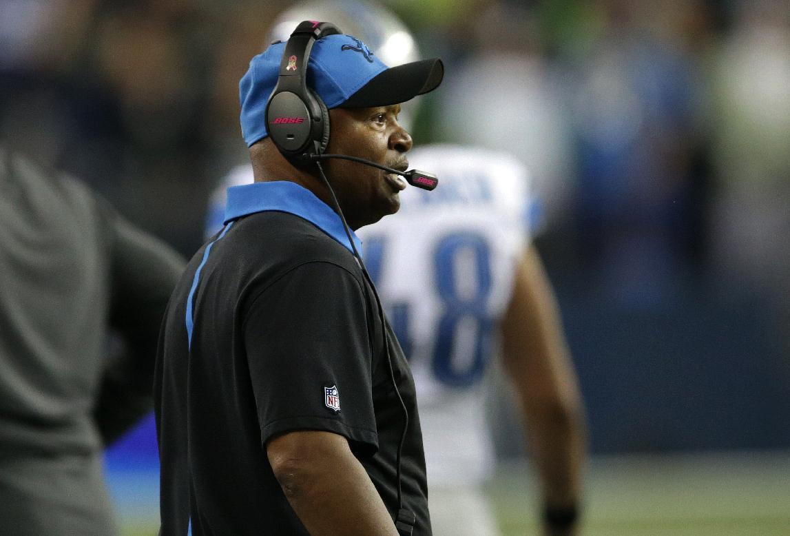 Caldwell says he's done talking about controversial play