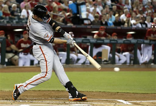 Gaudin strong again, Giants beat Diamondbacks 6-2