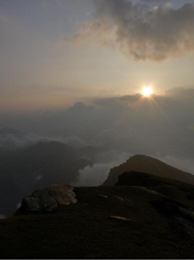 Sunset at Tungnath