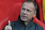 Brazil coach Mano Menezes, pictured on August 7, believes his players will be inspired by the chance to write their names in Wembley's legendary history by winning Olympic gold in the men's final against Mexico on Saturday