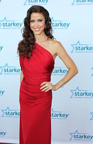 Shannon Elizabeth walks the red carpet before the 2012 Starkey Hearing Foundation's 'So the World May Hear Awards Gala on August 4, 2012 in St. Paul, Minnesotta -- Getty Images