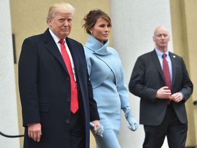 Melania Trump's Inauguration Outfit Prompts Countless Jackie O. Comparisons