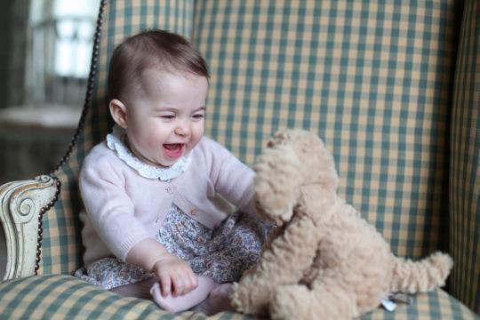 Princess Charlotte Breaks Royal Etiquette With New Dress Photos