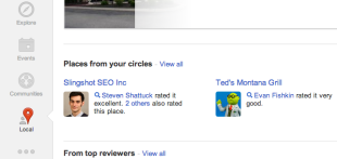 New Google+ Profile Layout: What You Need To Know image Screen Shot 2013 03 07 at 10.27.48 AM