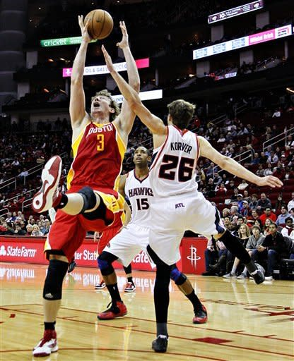 Rockets bounce back with 123-104 win over Hawks