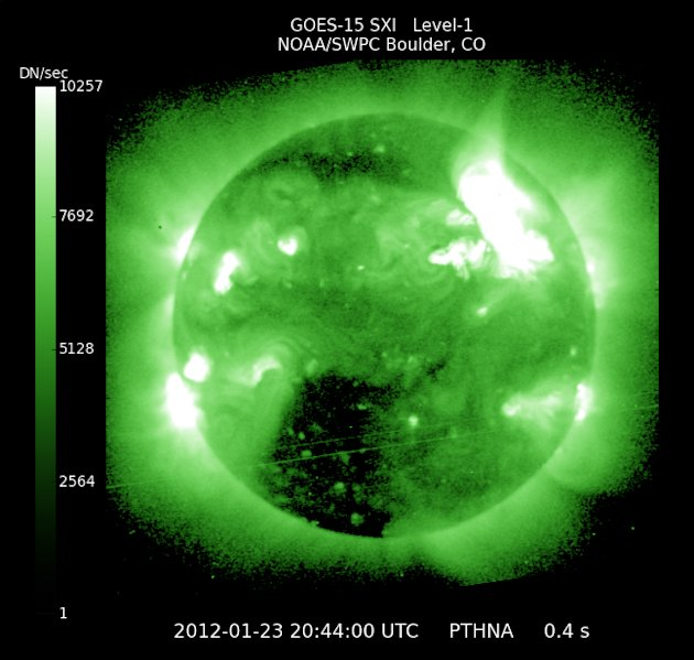 Large Solar Flare Expected …