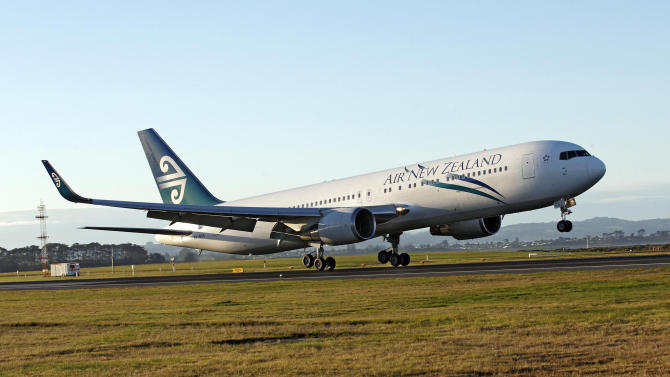 In this Sept. 24, 2009 photo released by Air New Zealand via New Zealand Herald, a Air New Zealand Boeing 767 takes off at Auckland international airport. The country's flagship airline plans to open a new frontier by flying planes to Antarctica and land on an ice runway. But tourists wanting to travel to the frozen continent will need to keep their hopes in check. The chartered flights would be for scientists and their support crews, and the airline said Tuesday it has no plans to begin commercial trips. (AP Photo/Air New Zealand via New Zealand Herald) AUSTRALIA OUT, NEW ZEALAND OUT