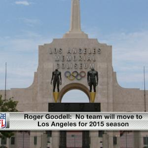 Rapoport: No NFL team in Los Angeles next season
