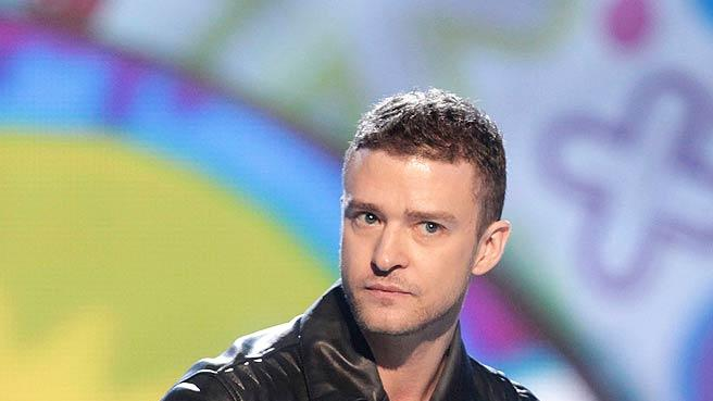 Justin Timberlake Kids Choice Awards