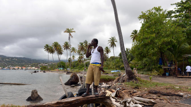 Encroaching sea already a threat in Caribbean