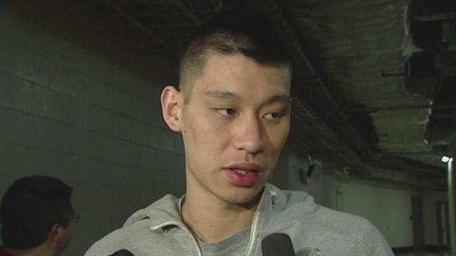 Jeremy Lin discusses chest injury [AMBIENT]