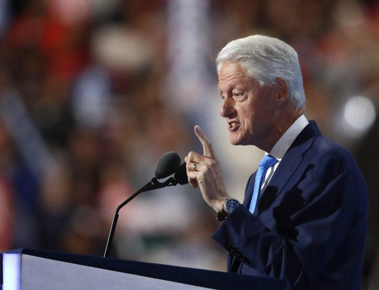 Bill Clinton to DNC: Today you nominated the 'real' Hillary