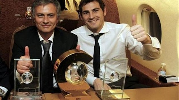 casillas mourinho
