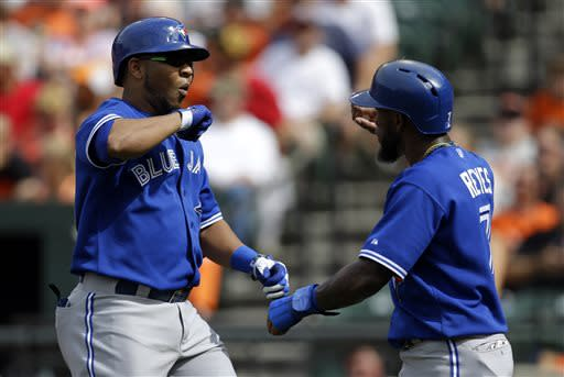 Davis hits 36th HR but Blue Jays beat Orioles 7-3
