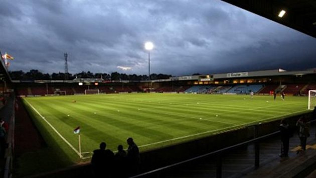 Scunthorpe United stadium Glanford Park