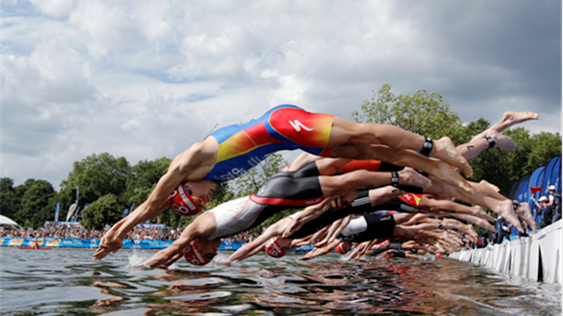 Hyde Park's Serpentine Lake - photo courtesy of London2012.com